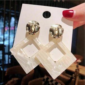 Boho Geometric Dangle Drop Stud Earrings